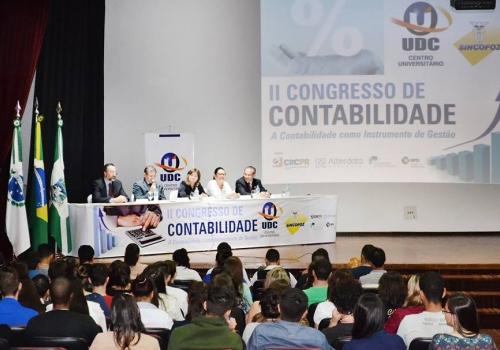 II Congresso de Contabilidade UDC/SINCOFOZ